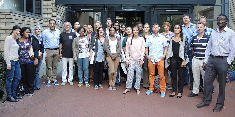 IOC99 participants in Cape Town