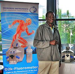 Edward Ojuka at ISMM2014 Bolzano IOC90